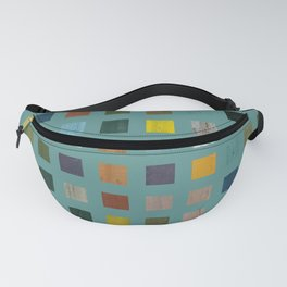 Rustic Wooden Abstract Vl Fanny Pack