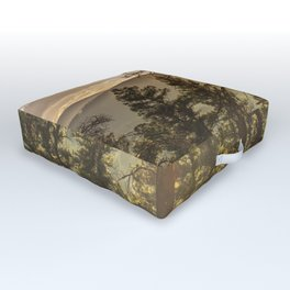 Mountain Forest New Mexico - Nature Photography Outdoor Floor Cushion