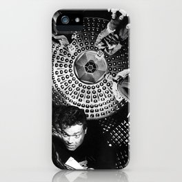 Looking Down on Us iPhone Case