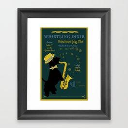 Whistling Dixie Jazz Club Framed Art Print