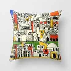 architectural fantasy_27 Throw Pillow