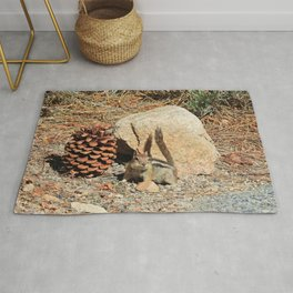 Wee Little Chipmunk Rug