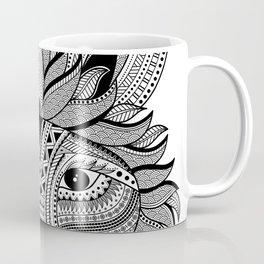 Foxy Fox Dark Coffee Mug