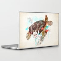 ariana grande Laptop & iPad Skins featuring Tortuga by Ariana Perez