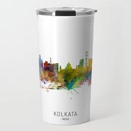 Kolkata (Calcutta) India Skyline Travel Mug