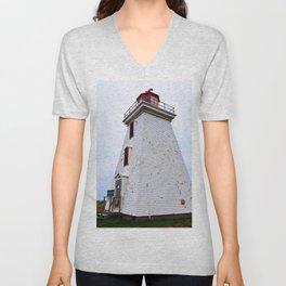 Lighthouse of Cape Egmont Unisex V-Neck