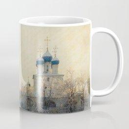 Church in Winter Estate Coffee Mug