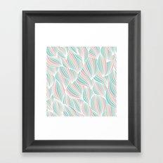 Cool Colorful Ocean Waves Framed Art Print