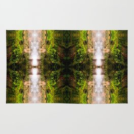 Radiant green Rug