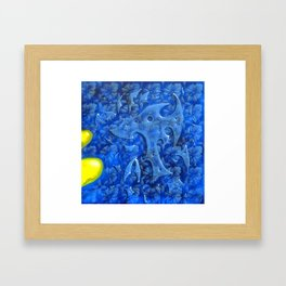 INTRUSION Framed Art Print