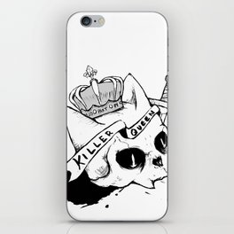 Queen Cat iPhone Skin