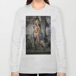 Grey Lights Long Sleeve T-shirt