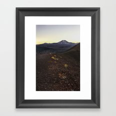 Lassen Volcanic National Park Framed Art Print