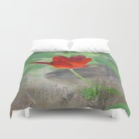 tulip Duvet Covers featuring Tulip by LoRo  Art & Pictures