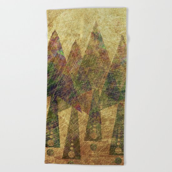Pineal Expansion Beach Towel