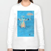 mary poppins Long Sleeve T-shirts featuring Mary Poppins by fedralita