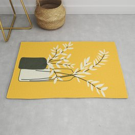 Abstract Vases Rug
