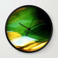 planes Wall Clocks featuring Planes by Sandra Ireland Images