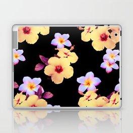 Hibiscus and Plumeria Laptop & iPad Skin