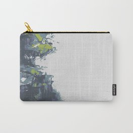 Palette knife abstract wall art  Carry-All Pouch