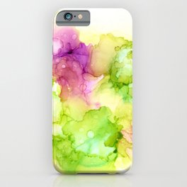 Limeade Flamingo Cloud Fish Emergence iPhone Case