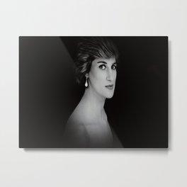 London Princess Diana Metal Print