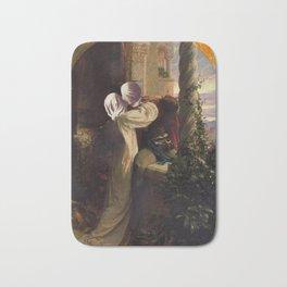 juliet and romeo magritte Bath Mat