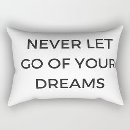 Inspirational Saying Rectangular Pillow