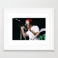 pierce the veil Framed Art Prints featuring Pierce The Veil at Warped Tour '15 by Kelly Ann Shuler