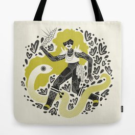 The Serpent Knight Tote Bag