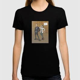 Sherlock and Joan T-shirt
