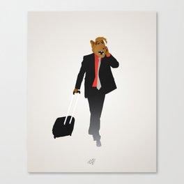 Industrious Alf Canvas Print