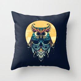 Nightwatcher Throw Pillow
