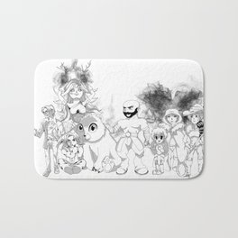 Vox Machina - Critical Role Line Art Bath Mat