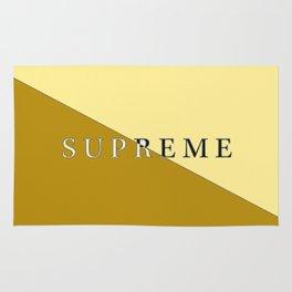 Supreme gold Rug