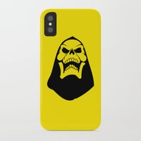 skeletor iPhone & iPod Cases featuring Skeletor. by Glassy