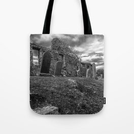Ruins of the Cill Chriosd Church and Cemetery Tote Bag