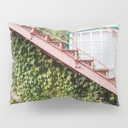 Stone House with Ivy Wall Pillow Sham
