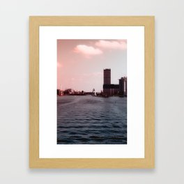 Berlin View Framed Art Print