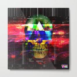 Retro Future Death Metal Print