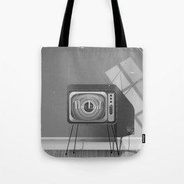 Vintage Black and white cartoon Tote Bag