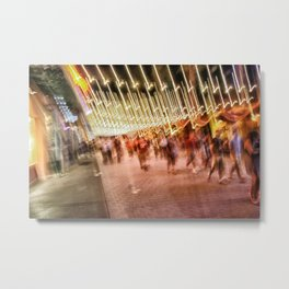 The dack side is near ! Metal Print