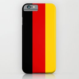 Flag of Germany - German Flag iPhone Case