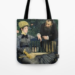 Edouard Manet - In the Conservatory Tote Bag