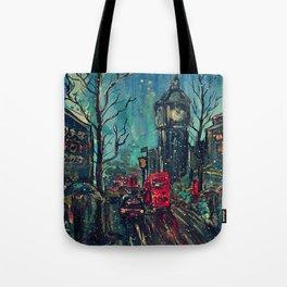 Impressionistic London  Tote Bag