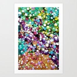 Super Happy Colors Art Print