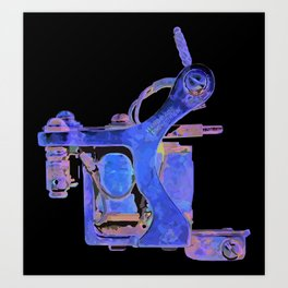 Machine six Art Print