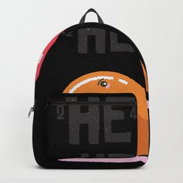 Funny Helium Balloons Backpack