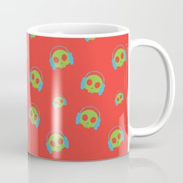 Music Skull v2 Coffee Mug