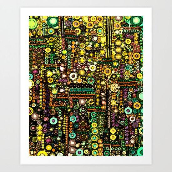 :: Windy City :: Art Print